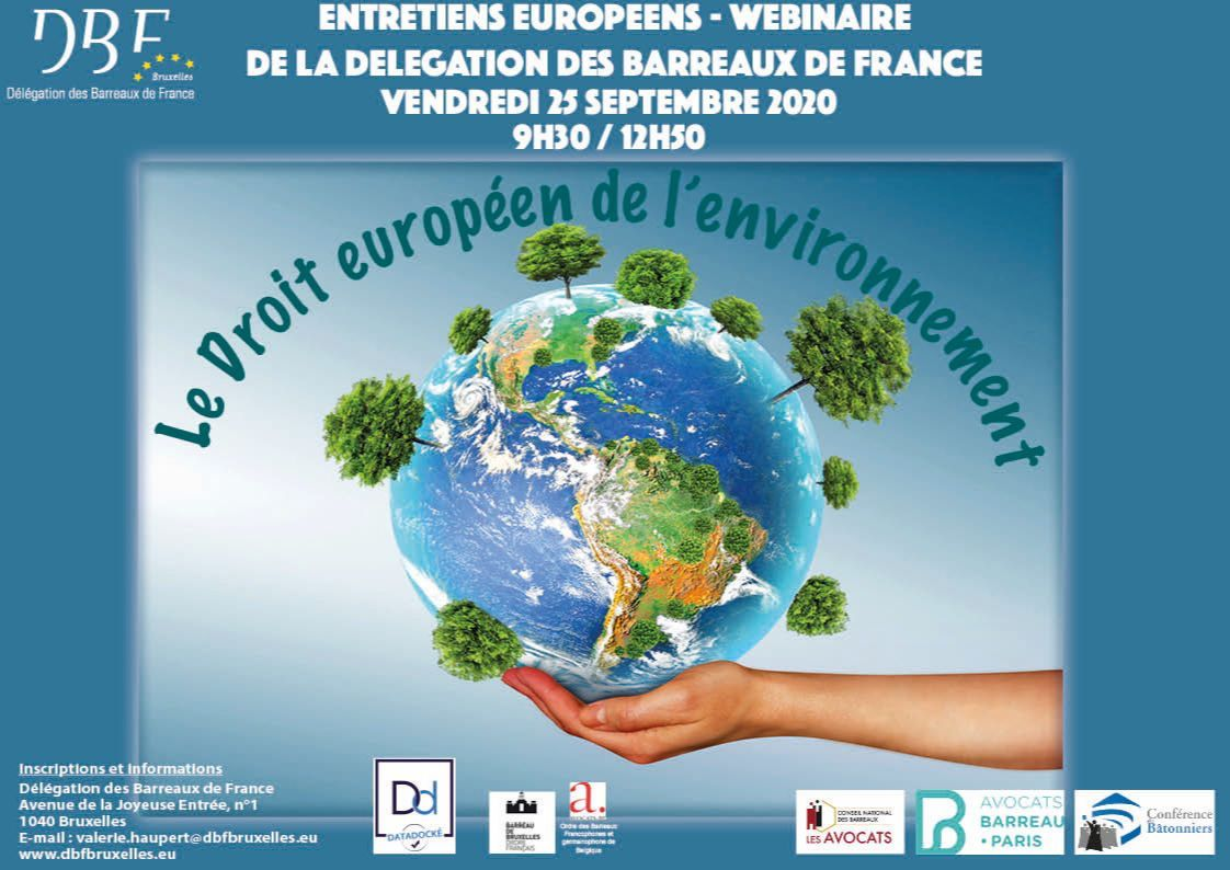 Entretien européens du droit de l'environnement